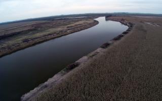 Obras para el Río Salado.