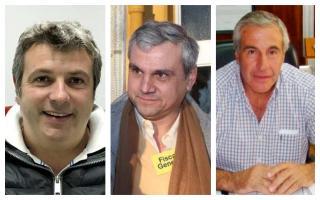 Foto: Sucurro, Nosseti y Hernández, respectivamente