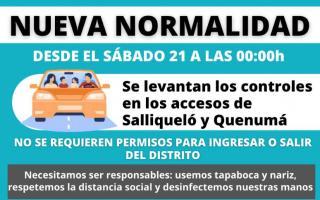 """Coronavirus en Salliqueló: Inicia """"nueva normalidad"""""""