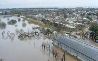 Brasca alertó por inundación histórica en Salto.
