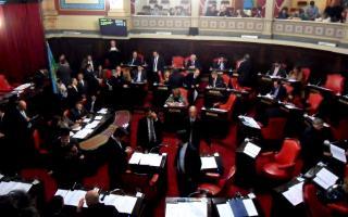 El proyecto fue tratado en la sesión de Senadores. Foto: LaNoticia1.
