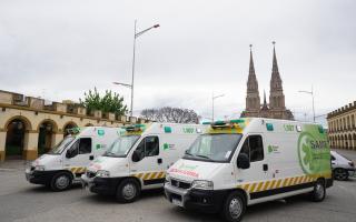 Las ambulancias de alta complejidad del SAME arribaron al municipio