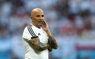 Jorge Sampaoli sigue como DT de la selección argentina por el momento