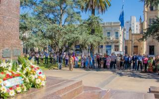 Este homenaje se realizó en Junín