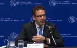 Renuncio el presidente del Banco Central, Guido Sandleris