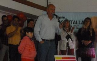 Santalla cerró su campaña. Foto: RamalloCiudad