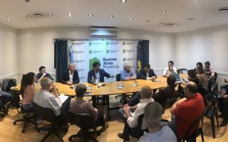 El Ministro de Agroindustria bonaerense presentó su balance de gestión en un libro