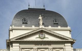 Sede de la Suprema Corte de Justicia bonaerense.