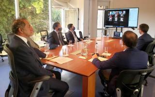 El exgobernador Scioli inició su actividad como embajador en Brasil
