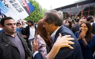 CFK y Scioli. Foto: @CasaRosadaAR