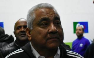 Salazar en el búnker con militantes. Foto: LaNoticia1.