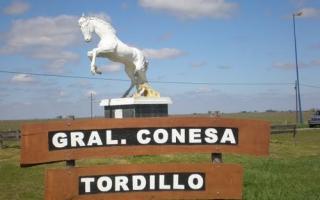 Choque fatal a la altura de la localidad de General Conesa. Foto: Prensa