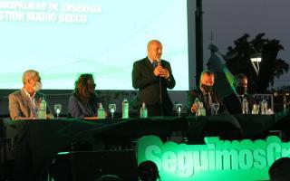 Mario Secco en la apertura legislativa