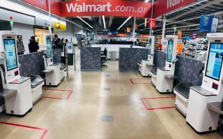 Cajas autoservicio: Walmart Luján incorpora tecnología con innovador sistema