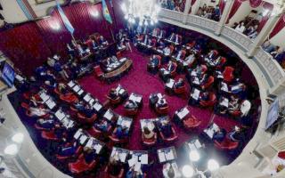 Sexta sesión ordinaria del Senado.