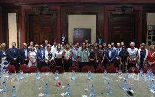 Vidal sigue con las reuniones con tinte político y ahora estuvo con los senadores de Cambiemos