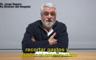 Jorge Sepero renunció al Hospital San Roque