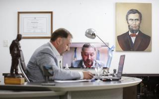 El intendente de Lincoln, Salvador Serenal