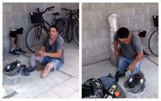 Sergio, el albañil de Pilar que perdió sus piernas, fue asesinado por su hijo de 10 años