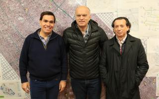 Sica recorre el Conurbano: Visitó una Pyme de Lanús