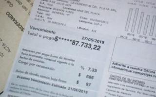 """La propietaria del comercio señaló que la tarifa del servicio es """"impagable"""" . Foto: Prensa"""