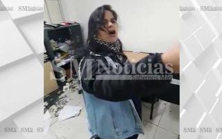 El video fue publicado por el medio local SMnoticias.