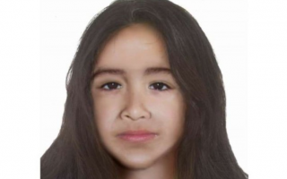 Proyección de Sofía Herrera a los 12 años. (Fuente Policía)