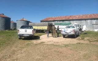 Recuperan más de 40 toneladas de soja sustraída valuada en casi medio millón de pesos