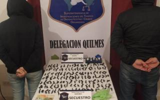 Quilmes: Cayó narco remisero y su pareja en Solano