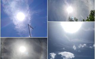 Por qué se forma el extraño halo solar que se vio en ciudades de la Provincia y el país