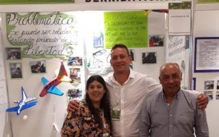 """Su nombre es Manuel Martell Barroni, y su proyecto de llama """"La solidaridad derriba muros""""."""