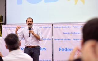 Federico Susbielles es el candidato a Intendente del Frente de Todos.