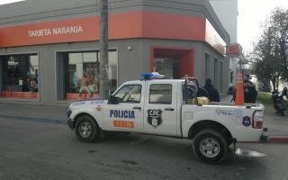Asaltaron el local de Tarjeta Naranja. Foto: Enlace Crítico