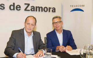Telecom amplía la red móvil en Lomas de Zamora