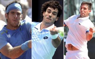 Del Potro sigue recuperándose, Pella debuta en ATP de Doha. Delbonis también competirá.