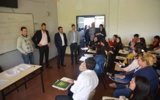 Marcelo Tinelli de vuelta en el conurbano: Estuvo en la Universidad de Lomas de Zamora