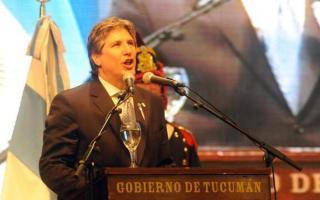 Boudou reemplazó a Cristina en el acto por el Día de la Independencia. Foto: La Gaceta de Tucumán.