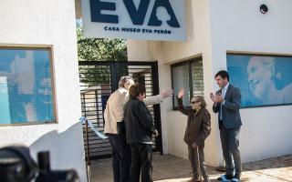 El Museo que se inauguró en Los Toldos, su pueblo natal