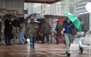 El alerta rige para el sur y el noroeste de la Provincia de Buenos Aires.