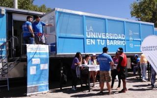 """""""La universidad en tu barrio"""" en Almirante Brown entre el 19 y 21 de noviembre"""