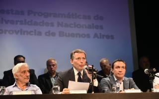 El PJ bonaerense y universidades presentaron propuesta educativa para la Provincia