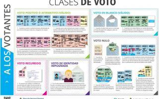 Serán validados todos los votos emitidos a través de una boleta oficializada. Foto: SDVS