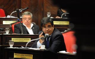 Senador Provincial,  Emilio López Muntaner.