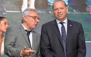 Tigre: Julio Zamora compartió con el ministro Sergio Berni el acto del Día de la Policía bonaerense