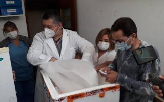 Operativo de vacunación en Balcarce