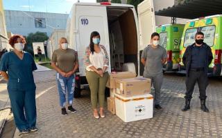 Vacunación Covid: Más de 4.000 dosis arribaron a San Nicolás y se llegaría a las 15 mil personas inoculadas