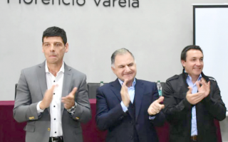 Arnaldo Medina, Julio Pereyra y Andrés Watson. Foto: Medina