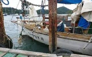 Apareció el velero desaparecido desde el miércoles. Foto: 0223