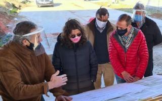 Arrieta supervisó el avance de las obras del bajo Viaducto La Noria