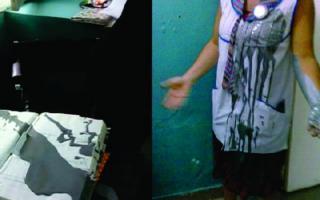 Asñi terminó la docente agredida.